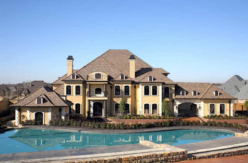 Mansion classifications homes of the rich for Home plans over 10000 square feet