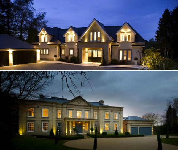 Two newly built mansions in cheshire england with indoor pools homes of the rich for Houses in england with swimming pools