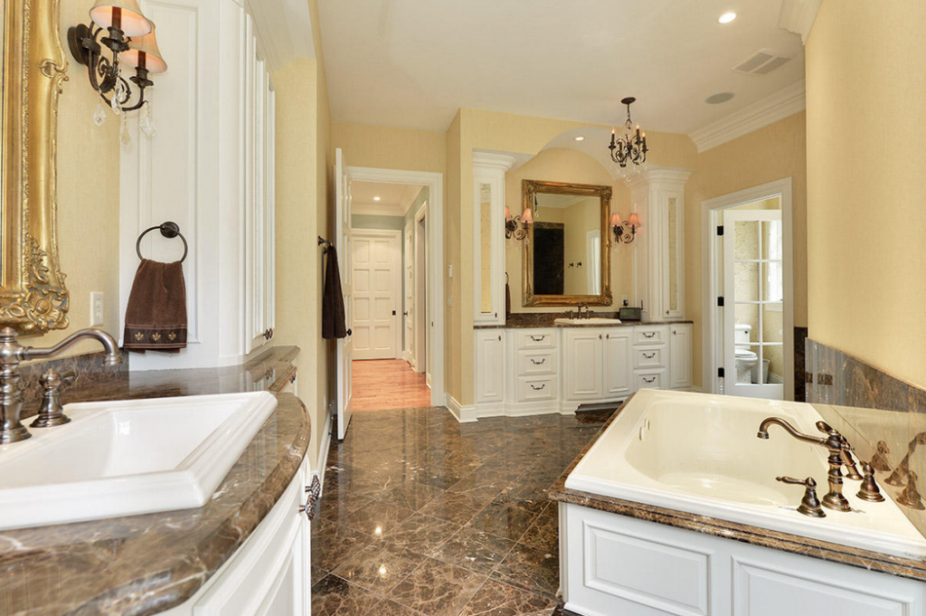 Million 12 000 square foot mansion in summit wi for Bathroom 75 million