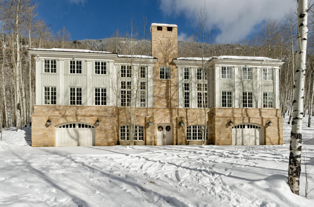 $9.95 Million Home In Aspen, CO Designed By Renowned Architect Allan Greenberg