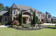 15,000 Square Foot Stone Mansion In Braselton, GA