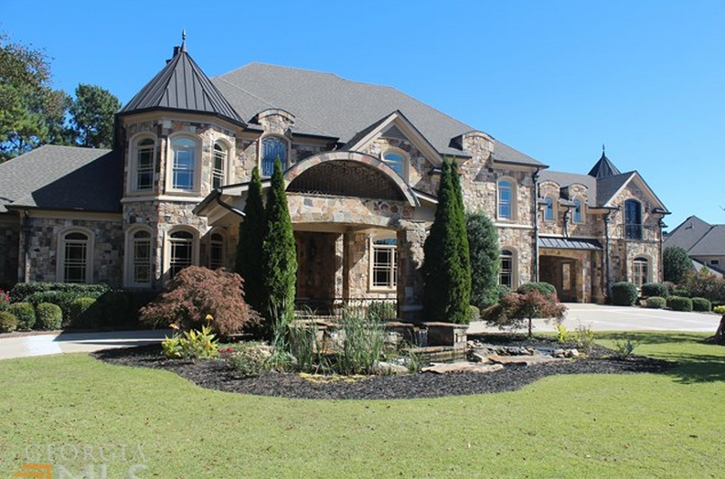 15 000 Square Foot Stone Mansion In Braselton GA