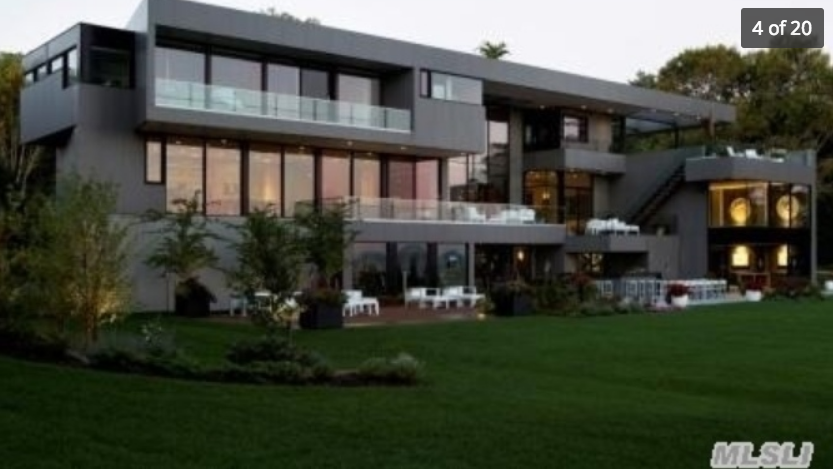 $38 Million Newly Built Contemporary Waterfront Mansion In Sands Point, NY