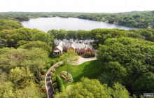 $20 Million Newly Listed Lakefront Mansion In Franklin Lakes, NJ