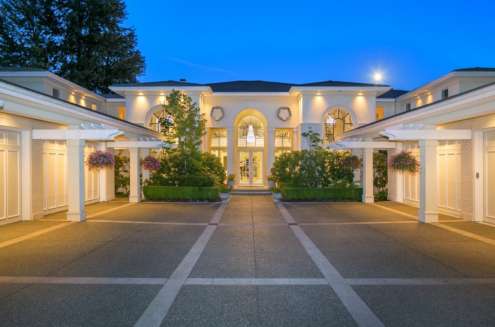 26 8 million waterfront estate in mercer island wa for Most expensive house in washington state