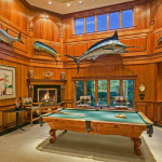 2-story Billiards Room