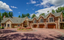 18,500 Square Foot Lakefront Mansion In Cameron, WI
