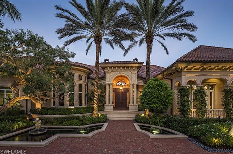 20 Million Newly Listed Waterfront Estate In Naples Fl