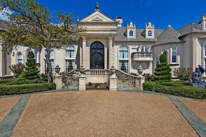 Lavish french chateau in flower mound tx for under 2 for French chateau style homes for sale