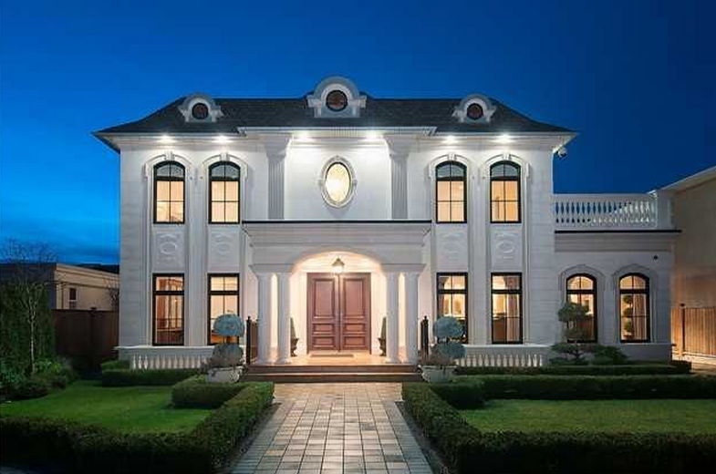 13 8 million newly built mansion in vancouver canada for Home builders in canada