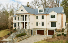 $5.5 Million Stone & Stucco Colonial Home In Washington, DC
