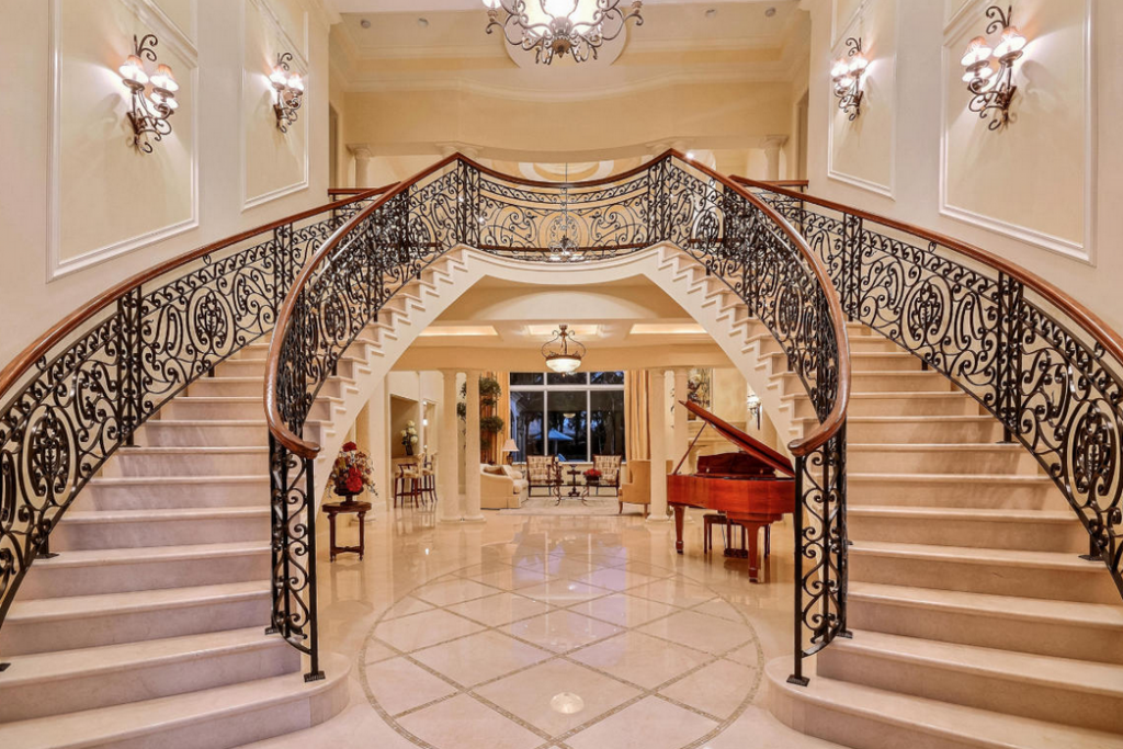Luxury Stairs Gallery Gorgeous Double Marble Staircase