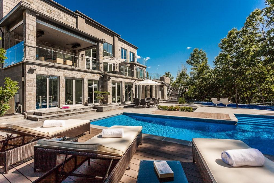 5 4 Million Contemporary Home In Quebec Canada Homes