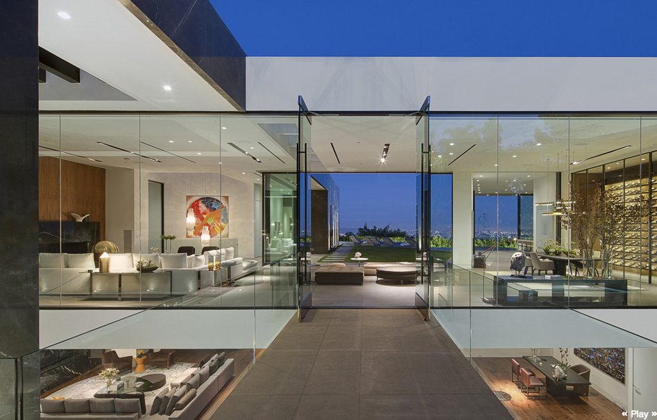 32 Million Newly Built Modern Home In Los Angeles Ca Homes Of The Rich