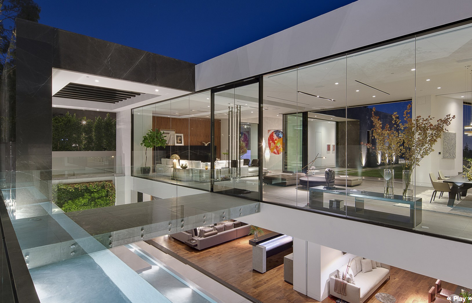 32 million newly built modern home in los angeles ca for Ultra modern house plans for sale