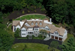 6 8 Million Newly Built Stone Amp Shingle Colonial Mansion