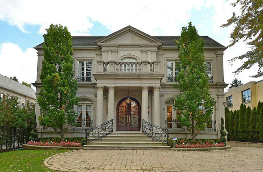 $7.8 Million Newly Listed Stone Home In Toronto, Canada