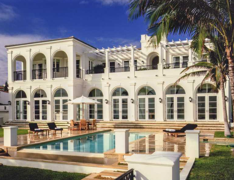 $25.995 Million Newly Listed Oceanfront Mansion In Golden Beach, FL
