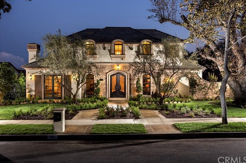 3 8 Million Newly Built French Inspired Home In Arcadia