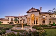 Stunning Mediterranean Mansion In Houston, TX Built By Sims Luxury Builders