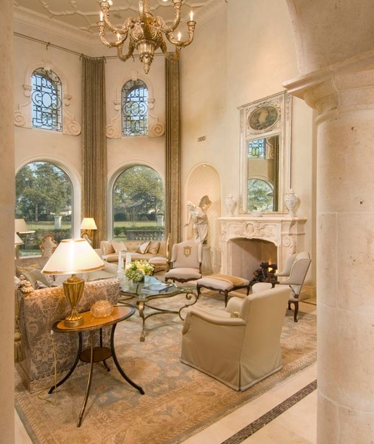 Stunning Mediterranean Mansion In Houston, TX Built By
