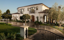 $5.5 Million Newly Built Italian Inspired Mansion In Arcadia, CA