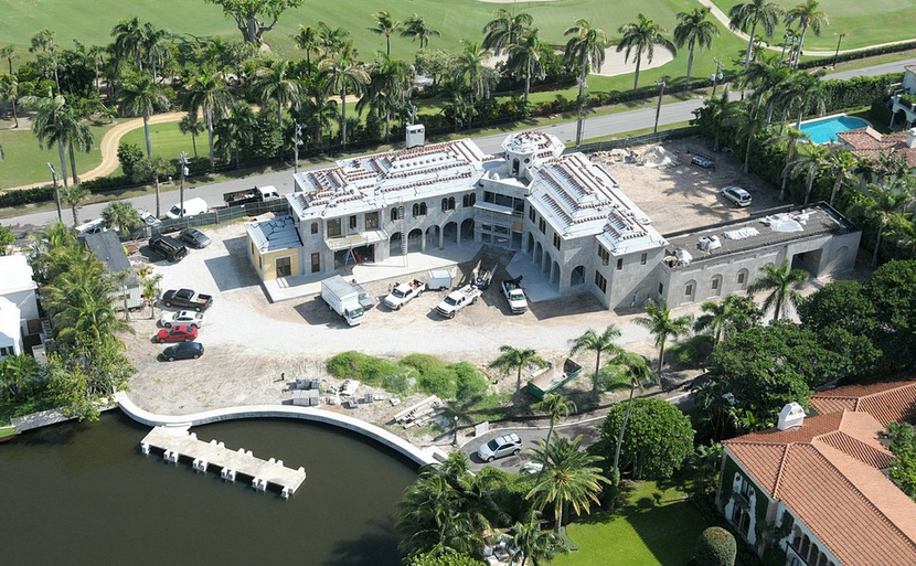 44.5 Million Newly Built 16,000 Square Foot Mansion In Palm Beach, FL