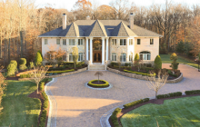 $4.9 Million Newly Listed Colonial Mansion In Colts Neck, NJ