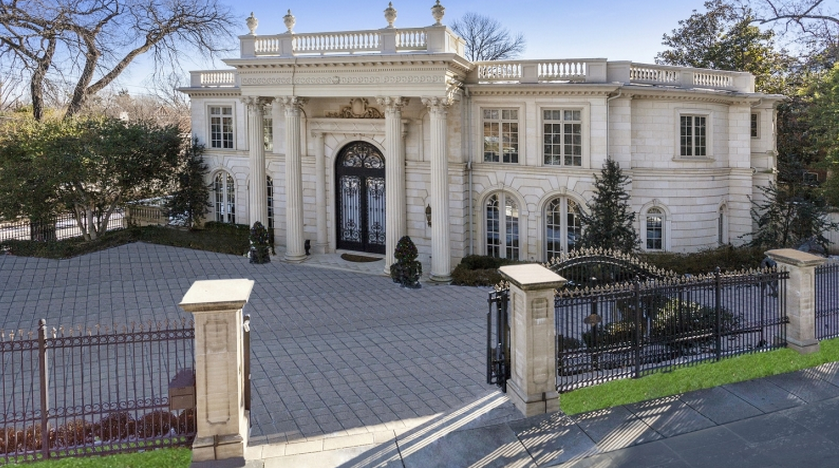 16 5 Million Newly Listed Beaux Arts Style Mansion In