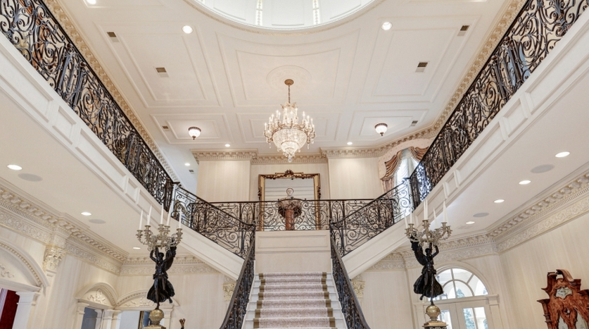 16 5 Million Newly Listed Beaux Arts Style Mansion In Washington Dc on Foyer And Dining Room Living Floor Plans