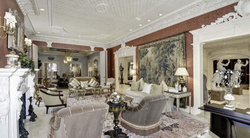 Beaux Arts Interior Design Plans $16.5 million newly listed beaux arts style mansion in washington