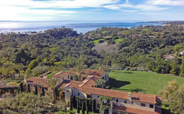 $19.95 Million Newly Listed 13,000 Square Foot Mediterranean Mansion In Santa Barbara, CA