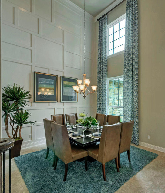 16 Beautiful 2 Story Dining Rooms