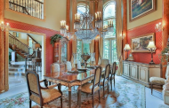 16 Beautiful 2-Story Dining Rooms