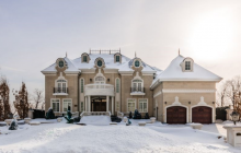 $9 Million French Inspired Waterfront Mansion In Quebec, Canada