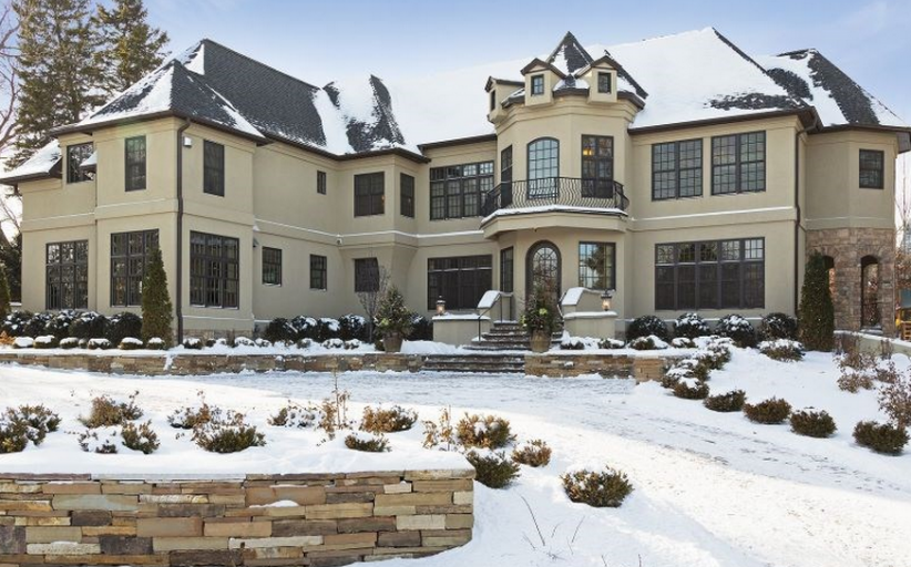 $4.4 Million Newly Listed Mansion In Edina, MN