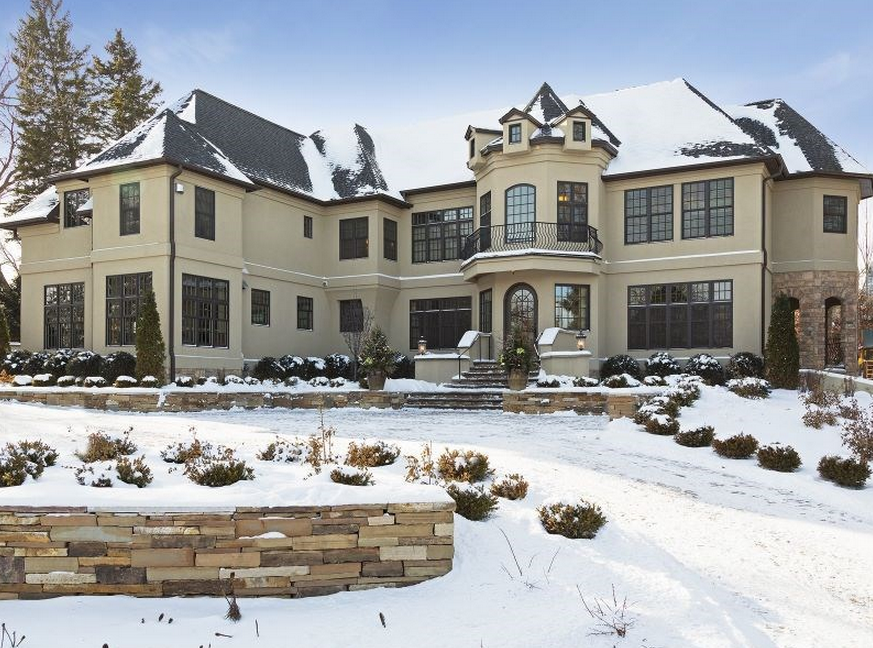 4 4 Million Newly Listed Mansion In Edina Mn Homes Of