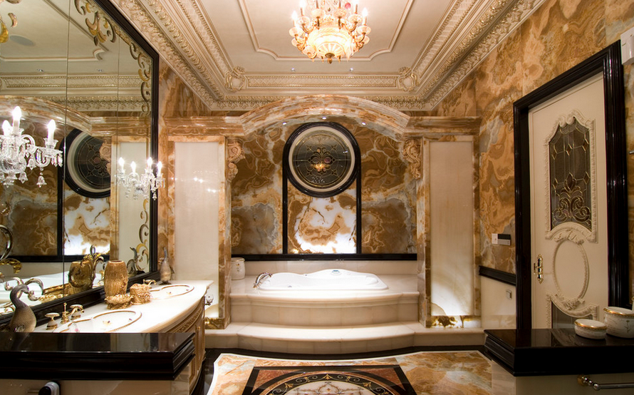 hotr poll: which luxurious bathroom do you prefer? | homes of the rich