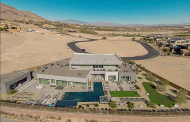 $8.45 Million Newly Listed 12,000 Square Foot Contemporary Mansion In Las Vegas, NV