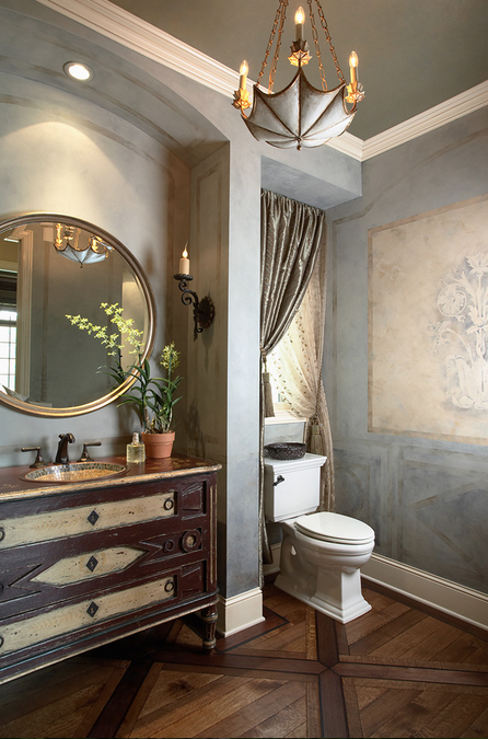 Powder Rooms Homes Of The Rich