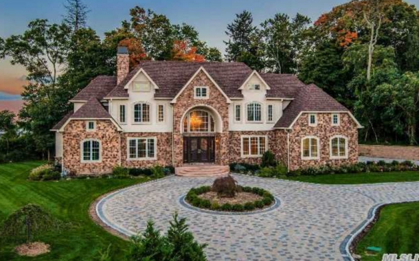 $5 Million Newly Built 10,000 Square Foot Mansion In Syosset, NY