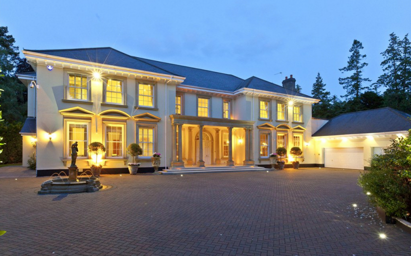 £8.95 Million 11,000 Square Foot Mansion In Surrey, England