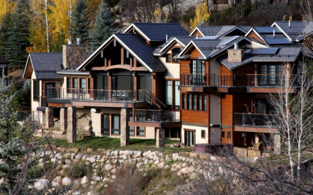 $16.9 Million Newly Listed Mountaintop Contemporary Mansion In Aspen, CO