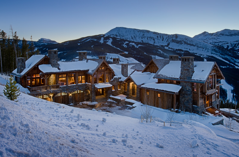 Locati architects homes of the rich the 1 real estate Yellowstone log cabin hotel