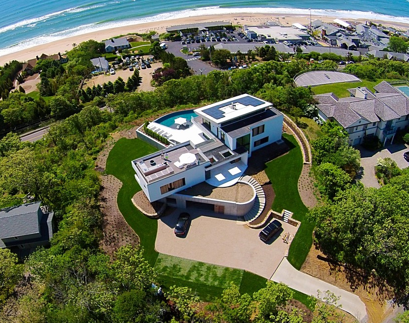 $13.95 Million Newly Built Modern Home In Montauk, NY