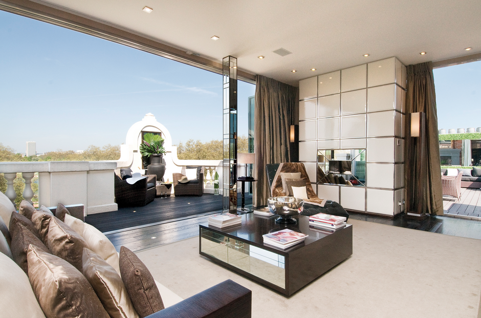 40 million 10 000 square foot penthouse in london for 10000 sq ft in acres