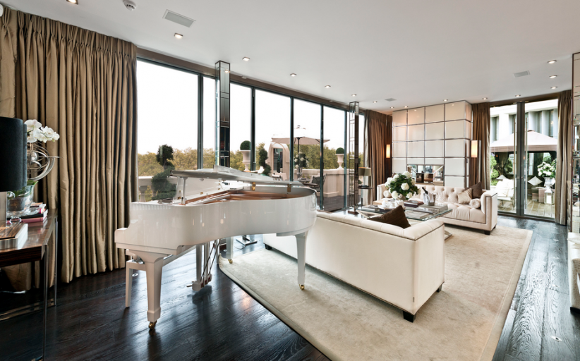 £40 Million 10,000 Square Foot Penthouse In London, England