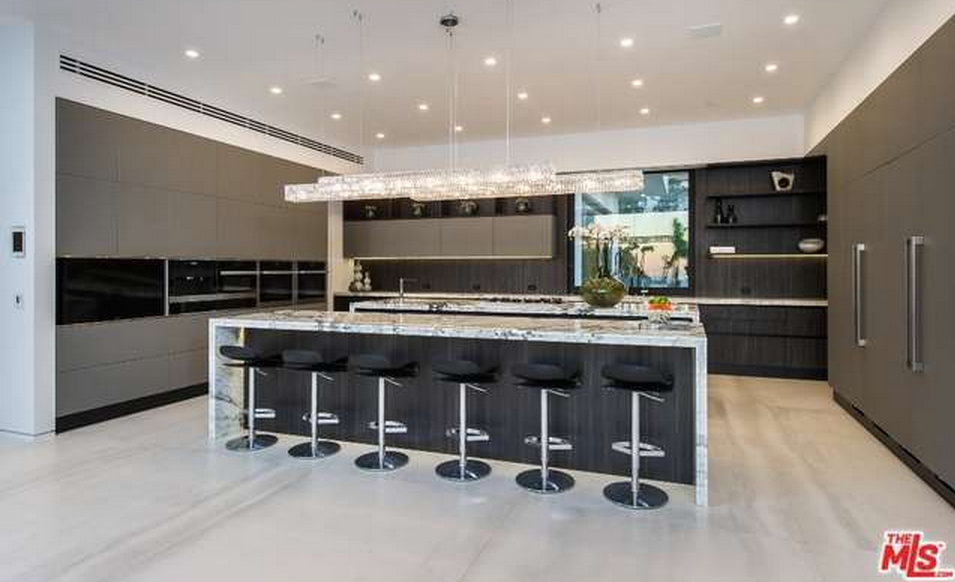 million newly built contemporary mansion  beverly hills ca homes   rich