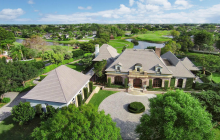 $7.5 Million Newly Listed French Country Home In Wellington, FL