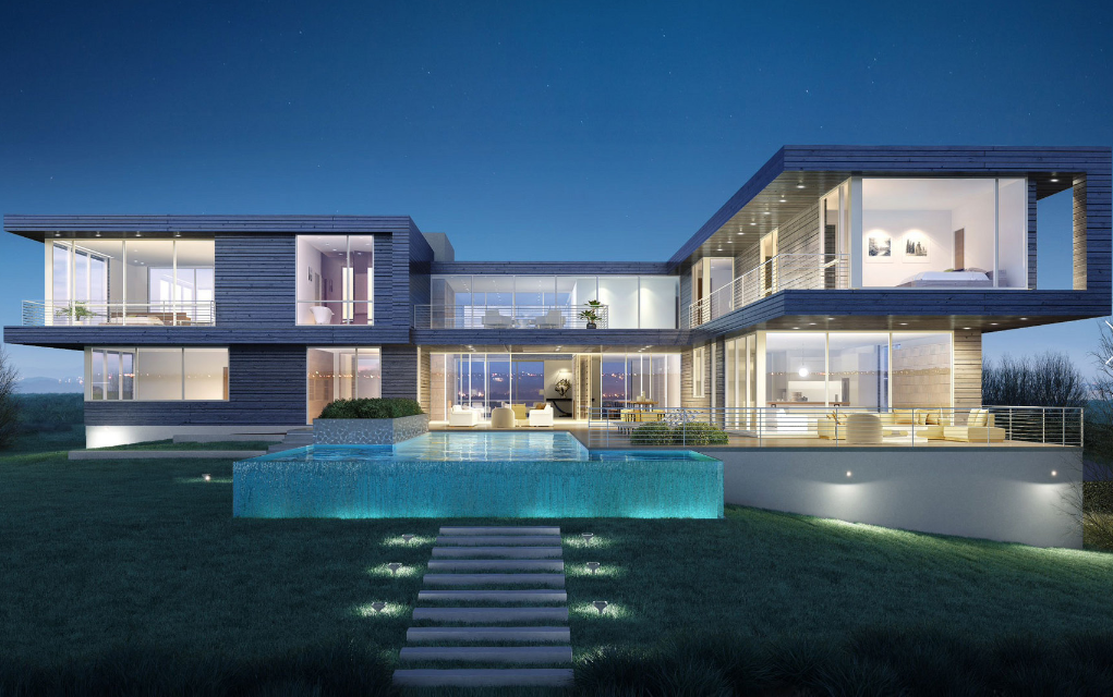 27 95 Million Modern Mansion To Be Built In Southampton Ny on Guest Suite Floor Plans